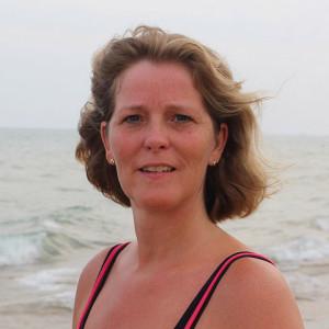 Yoga docent Monica Bergsma