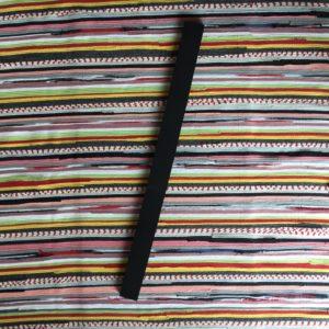 Yoga strip, rubberen strip, rug stripje, critical alignment strip